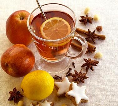 شاي التفاح في 5 دقيقة - وصفة 2019
