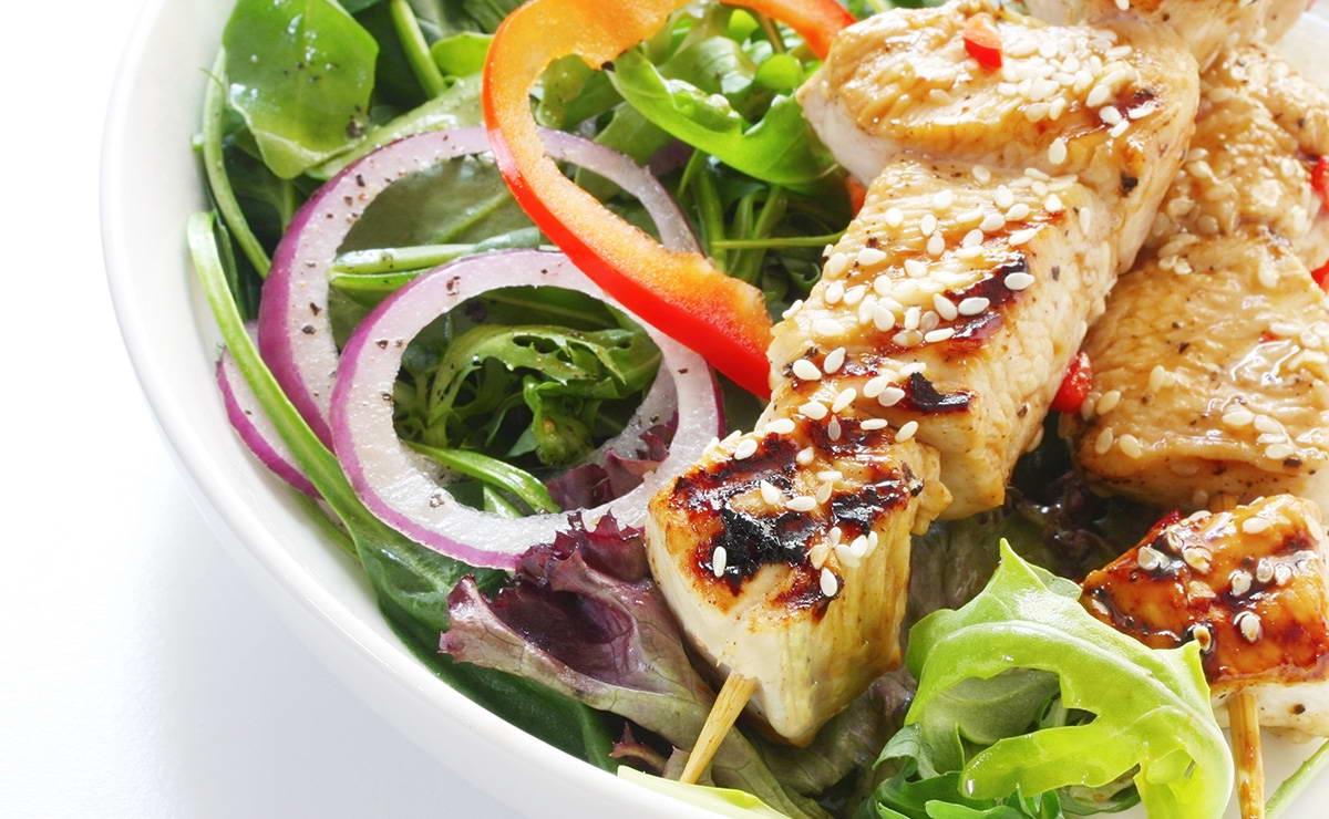 دجاج بالسمسم في 15 دقيقة - وصفة 2019
