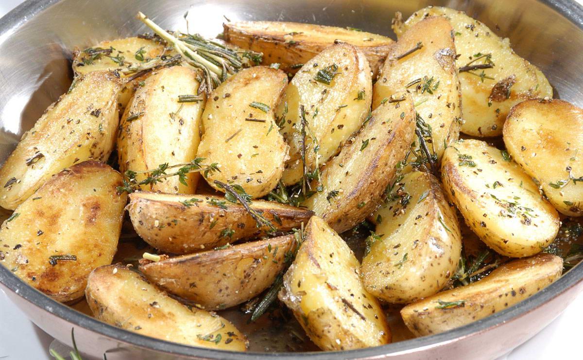 البطاطس المشوية باكليل الجبل في 10 دقيقة - وصفة 2020