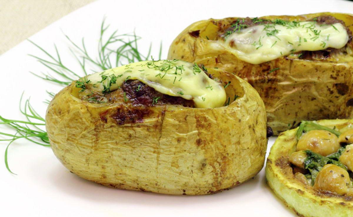 البطاطا المحشية بصلصة البولونيز في 60 دقيقة - وصفة 2019