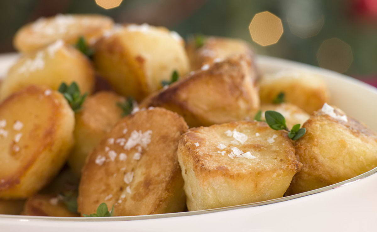 البطاطس المحمرة بالليمون في 15 دقيقة - وصفة 2020