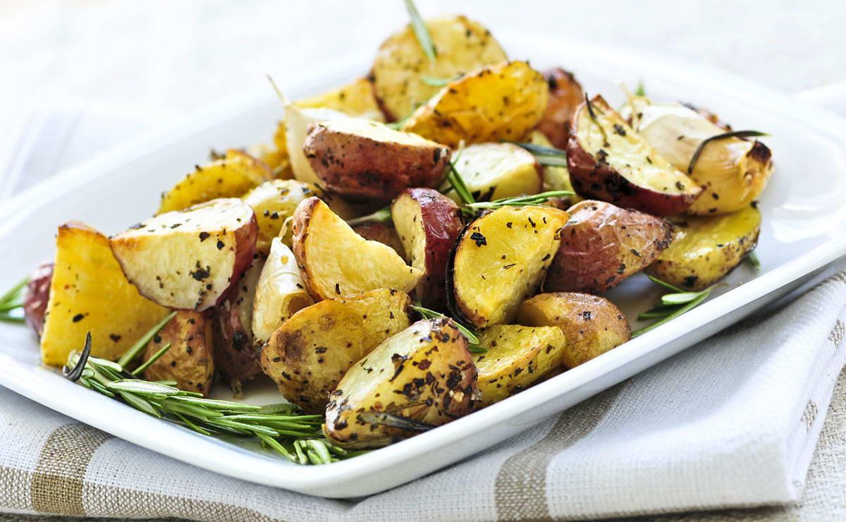 البطاطس المشوية بالفلفل في 15 دقيقة - وصفة 2019