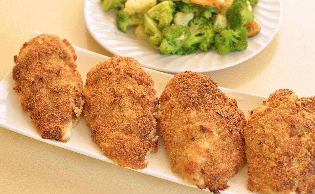 دجاج بارميزان في 15 دقيقة - وصفة 2018