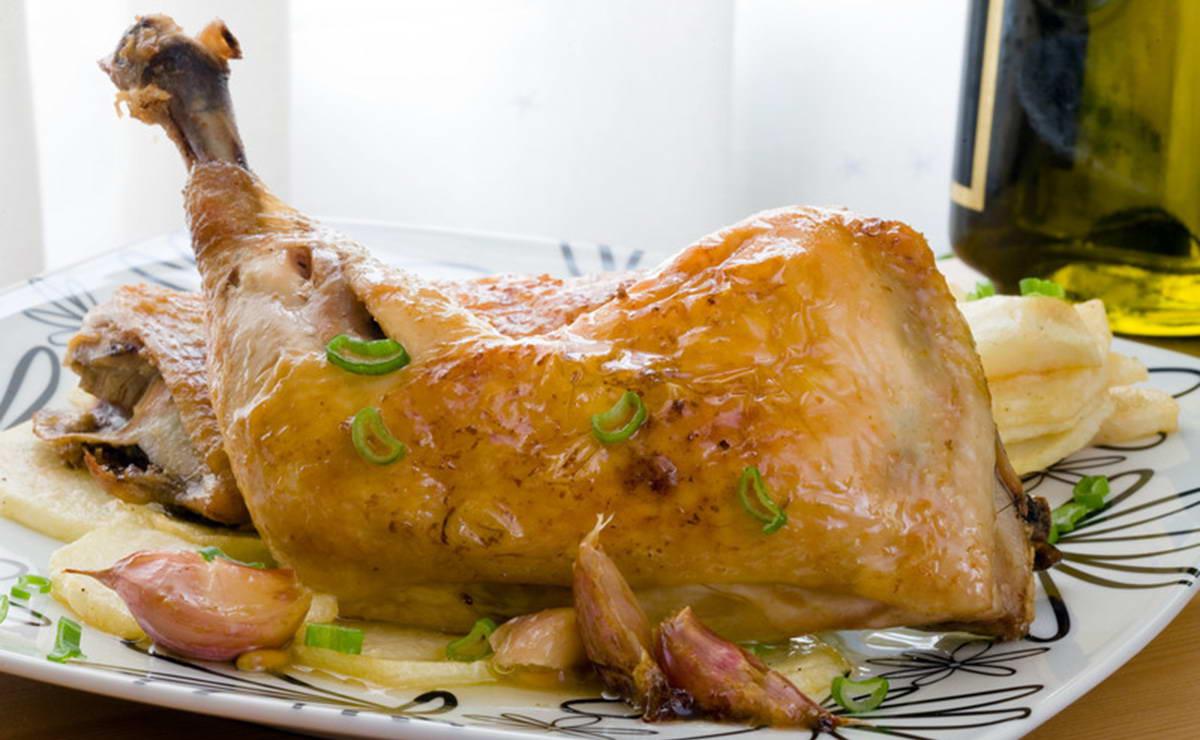 دجاج بالعسل والقرفة في 10 دقيقة - وصفة 2019
