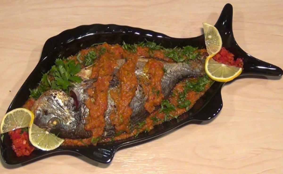 سمكة حارة في 30 دقيقة - وصفة 2021