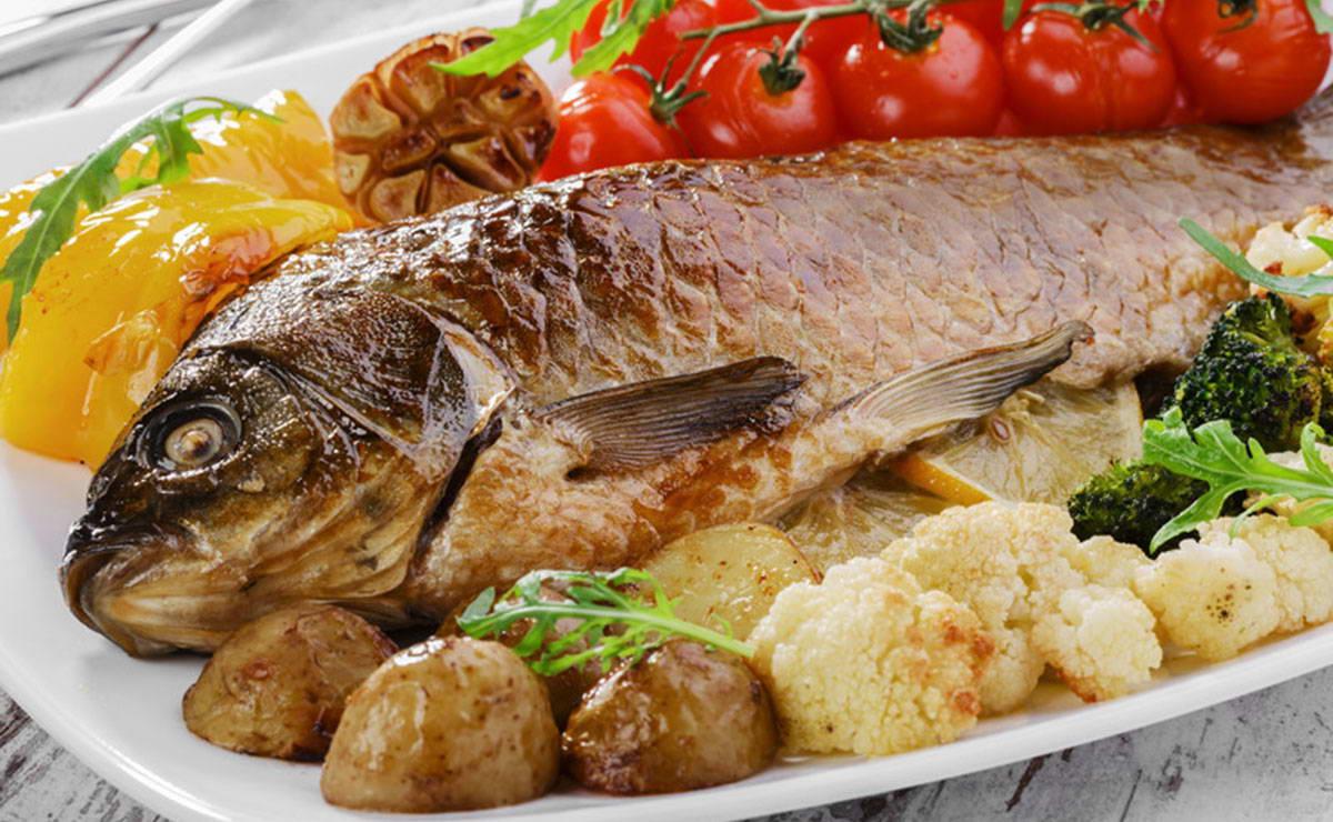 السمك المشوي بالفرن في 15 دقيقة - وصفة 2019