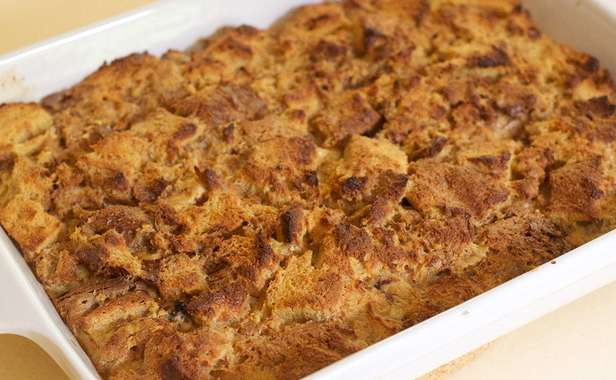 بودينج الخبز بالموز في 10 دقيقة - وصفة 2021