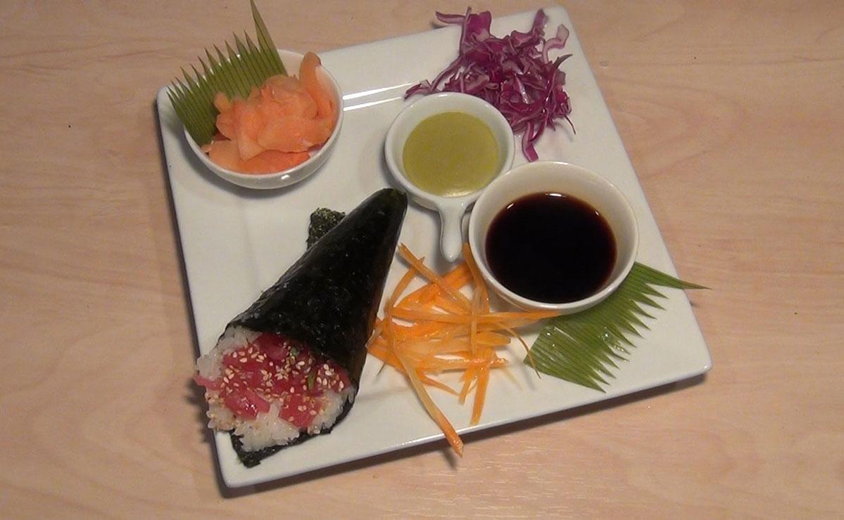 طريقة عمل السوشي تيماكي التونة في 10 دقيقة - وصفة 2020