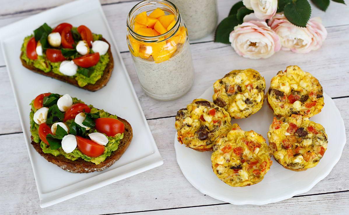 ثلاث وصفات لفطور صحي في 10 دقيقة - وصفة 2019