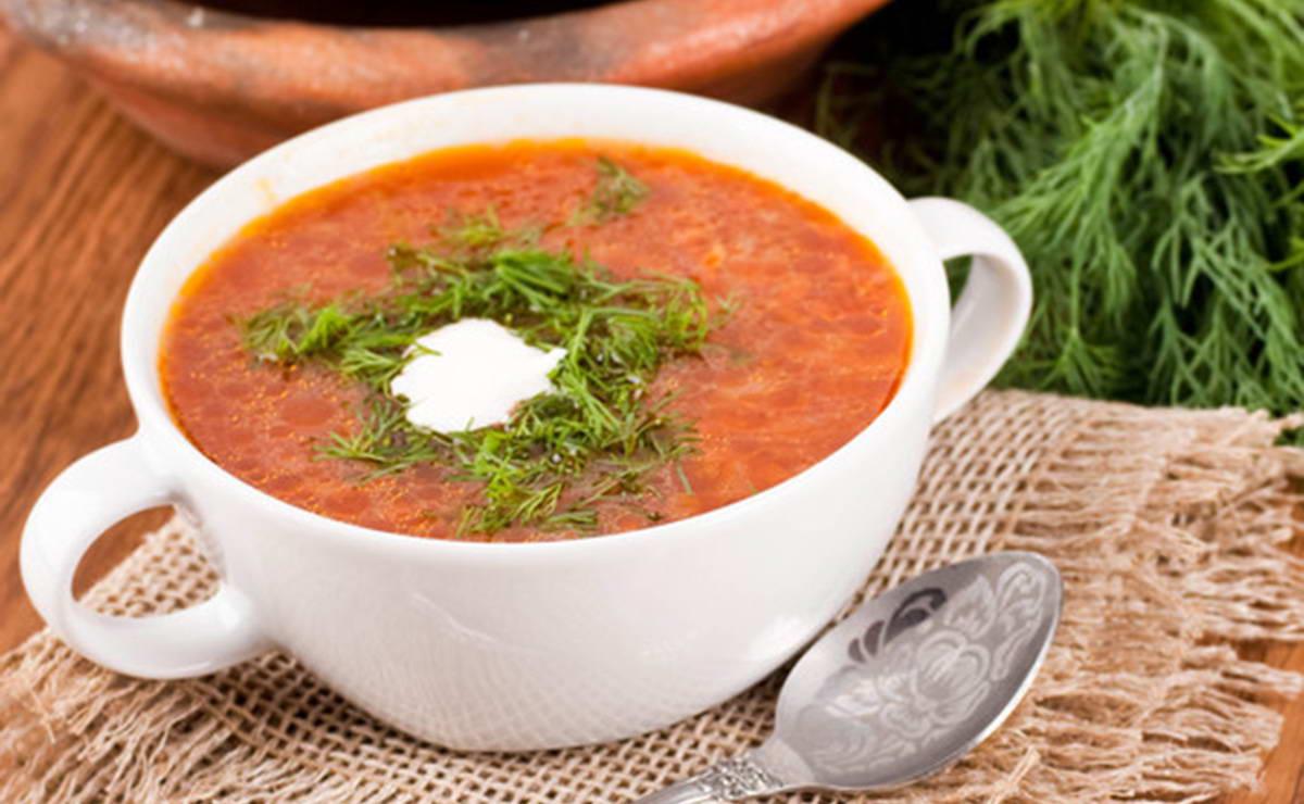 شوربة الشعيرية بالطماطم في 10 دقيقة - وصفة 2021