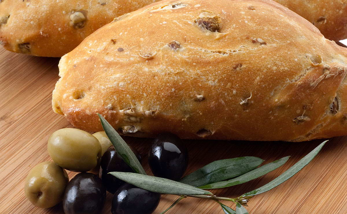 خبز بالزيتون في 20 دقيقة - وصفة 2019