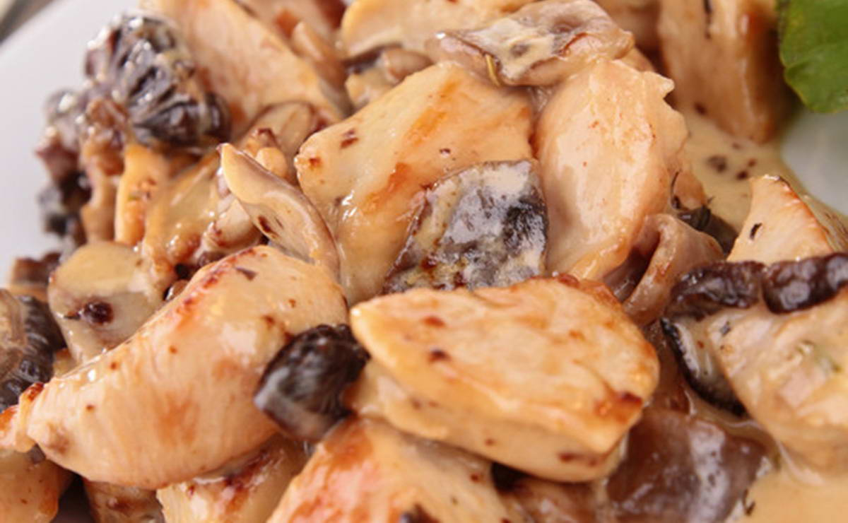 دجاج بالخردل والفطر في 15 دقيقة - وصفة 2018