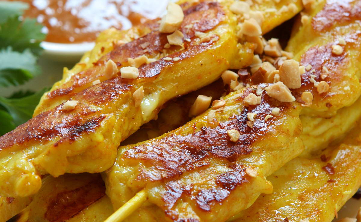 دجاج ساتيه في 60 دقيقة - وصفة 2019