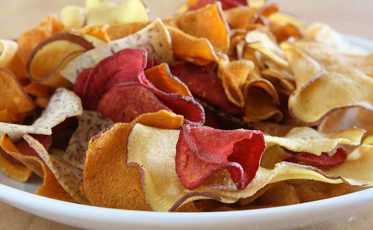 رقائق البطاطس في 5 دقيقة - وصفة 2020