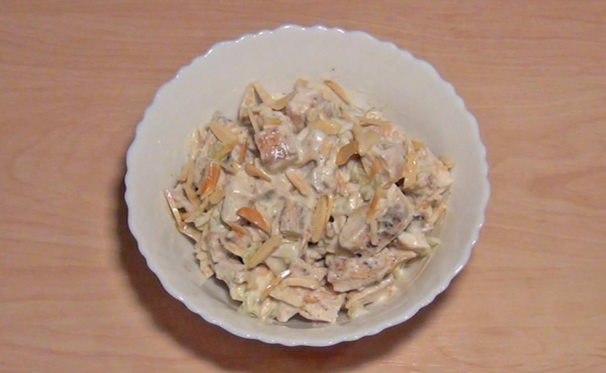 سلطة الدجاج في 15 دقيقة - وصفة 2020