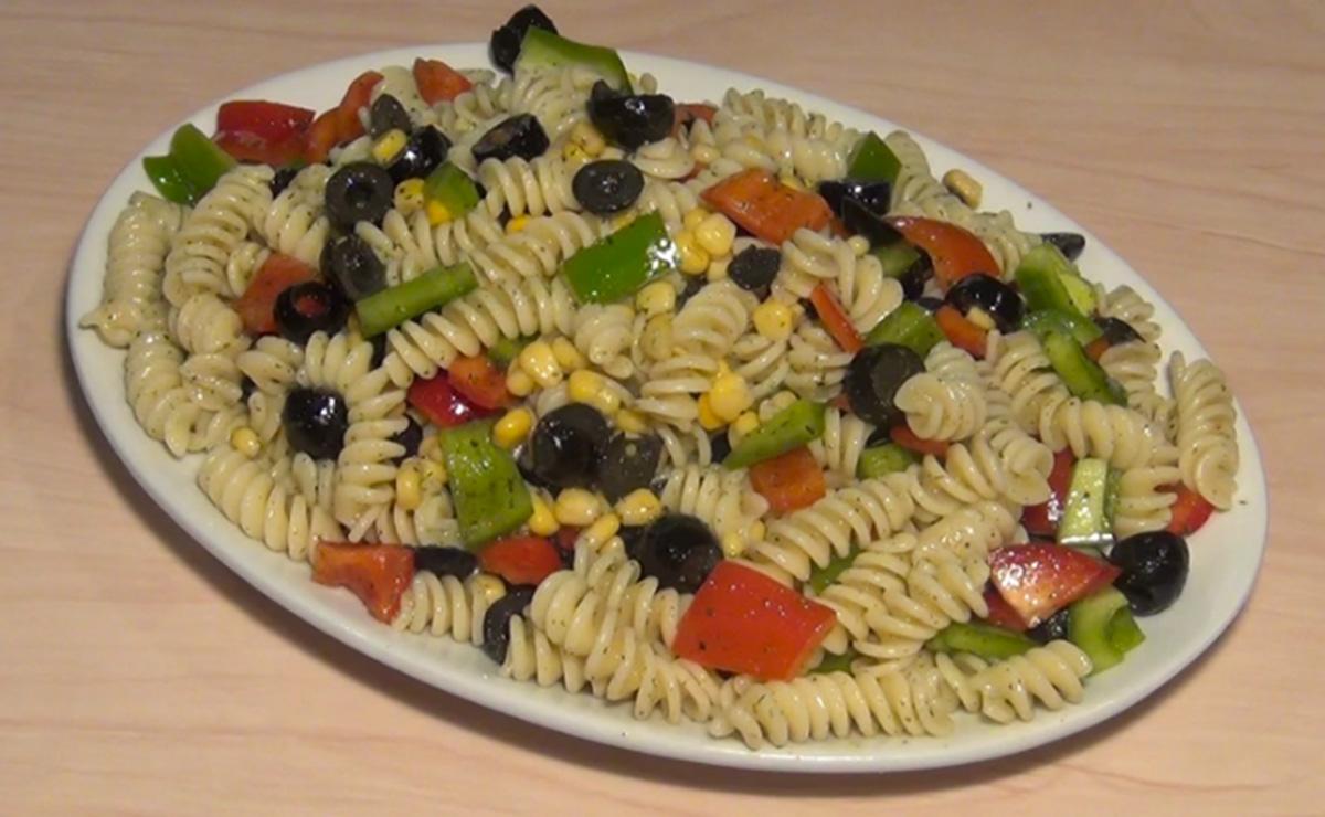 سلطة المعكرونة الايطالية في 10 دقيقة - وصفة 2019
