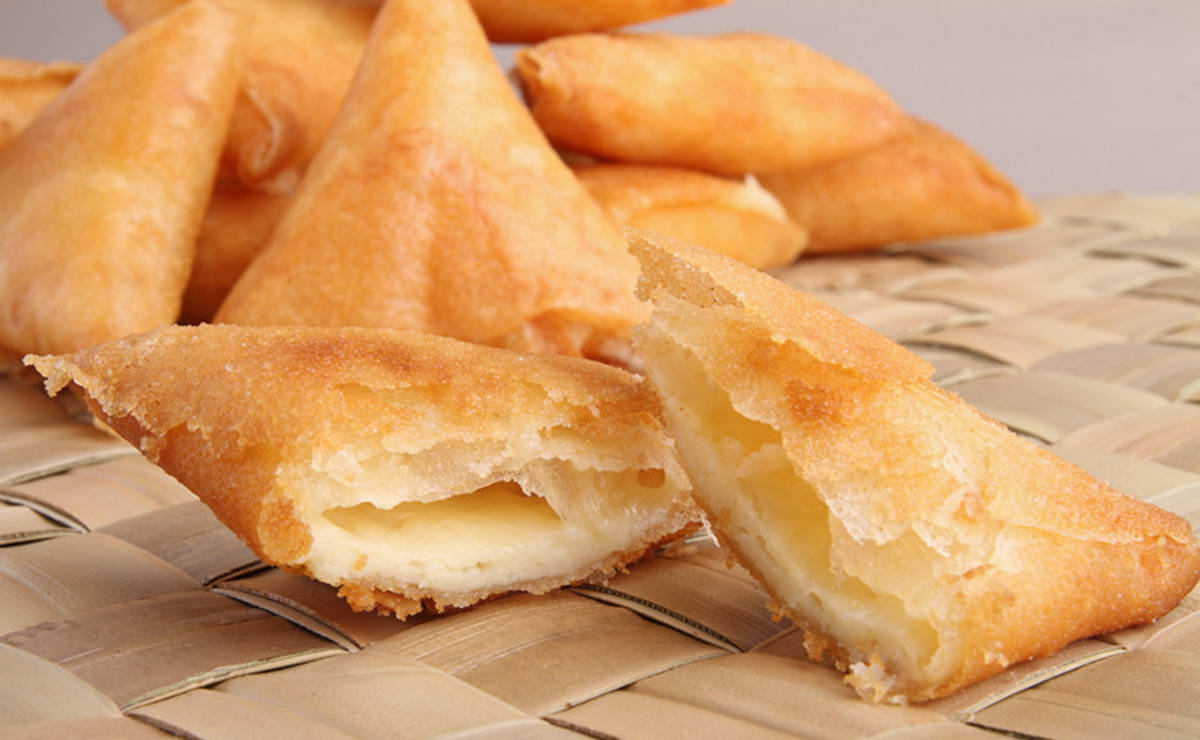 سمبوسك بالجبنة البيضاء في 60 دقيقة - وصفة 2019