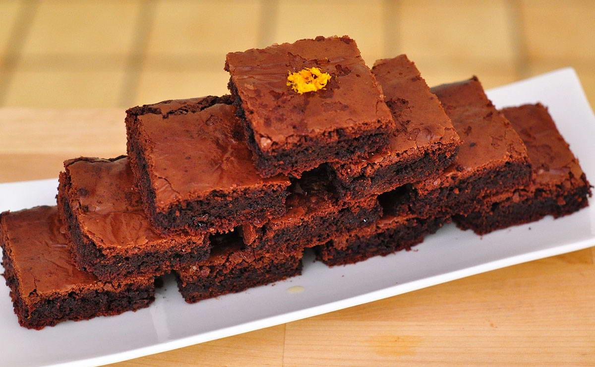 طريقة عمل براونيز الشوكولاتة بالبرتقال في  - وصفة 2019