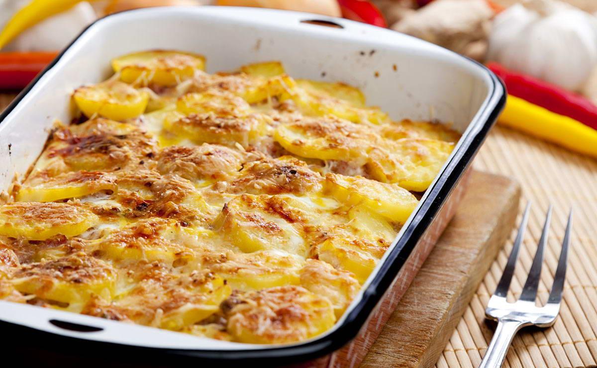 غراتان البطاطس دوفينوا في 15 دقيقة - وصفة 2018
