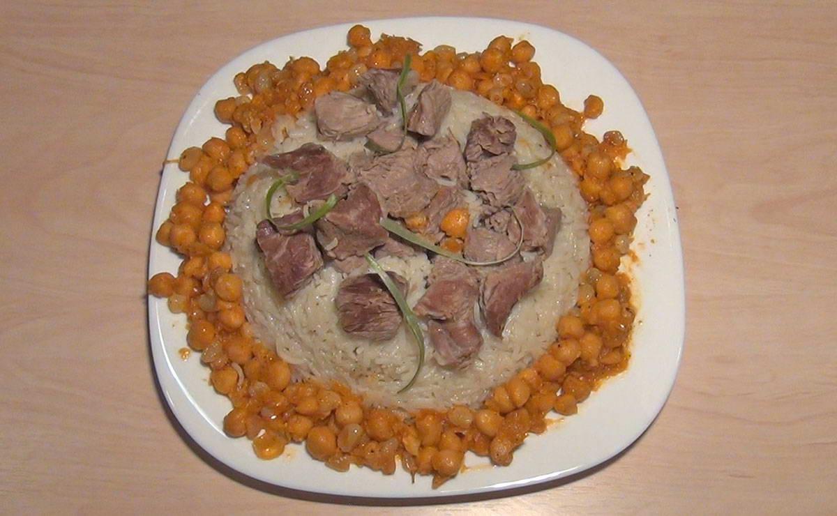 طريقة عمل مجبوس اللحم في 15 دقيقة - وصفة 2021