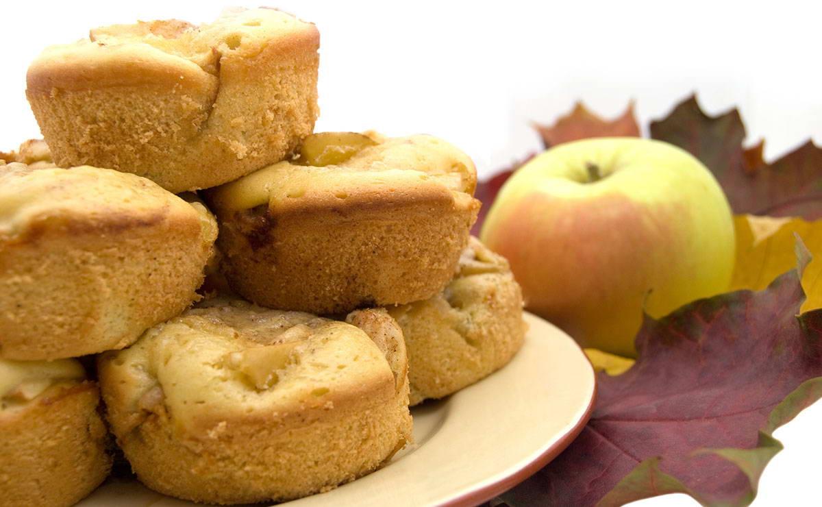 كيكة التفاح الصغيرة و الطرية في 15 دقيقة - وصفة 2019