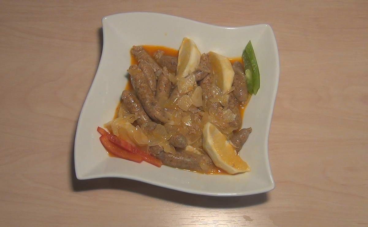 نقانق الدجاج المقلية في 10 دقيقة - وصفة 2019