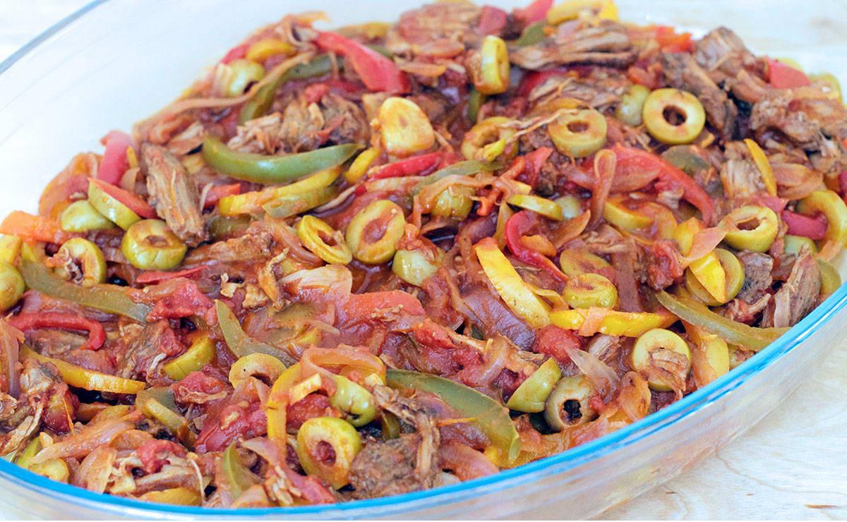 يخنة اللحممع الفليفلة والزيتون في 30 دقيقة - وصفة 2019
